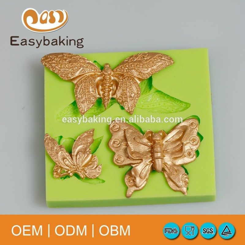 DIY 3D Large Butterflies Silicone Mold Arts and Crafts Tools