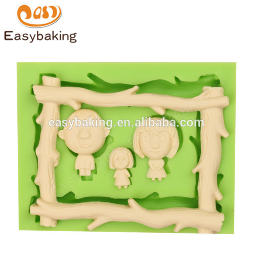 Manufacture different types 115*90*13 new products cake silicone mold