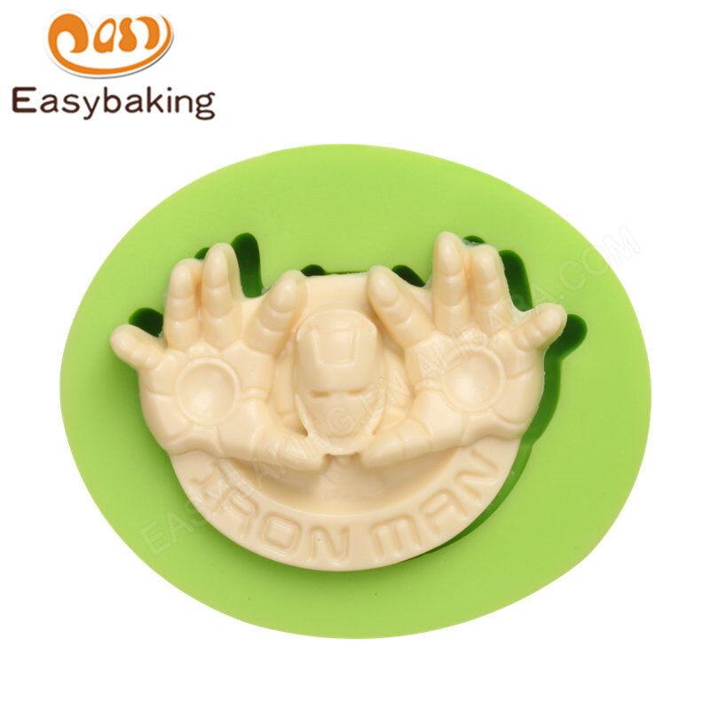 Spiderman Mask Fondant Silicone Molds for cake decorating
