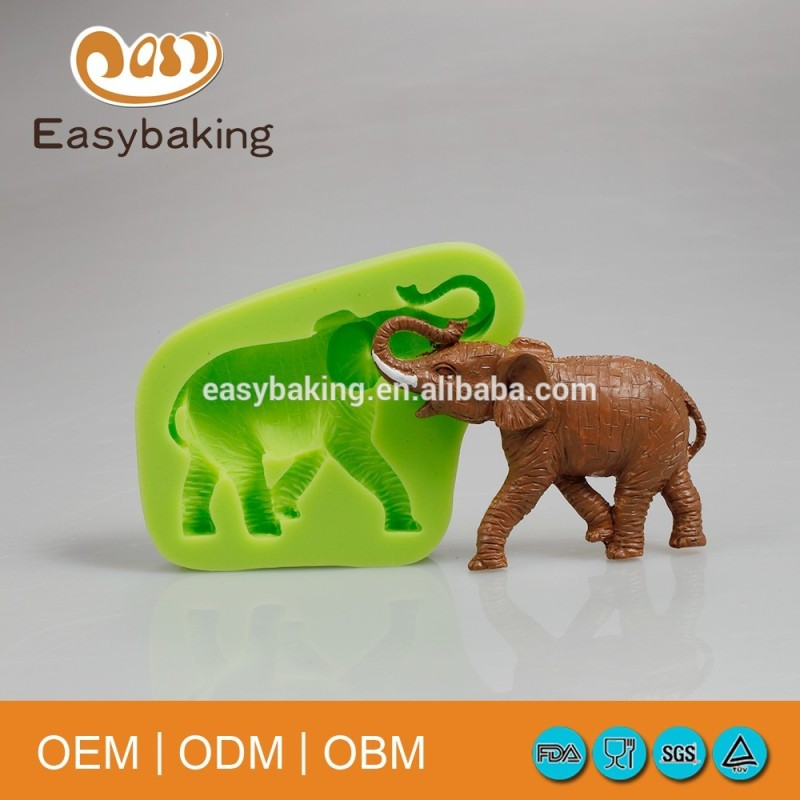 Handmade African elephant clay cheap cake decorating supplies