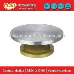 30cm Stainless Steel Stand Cake Decorating Turntable