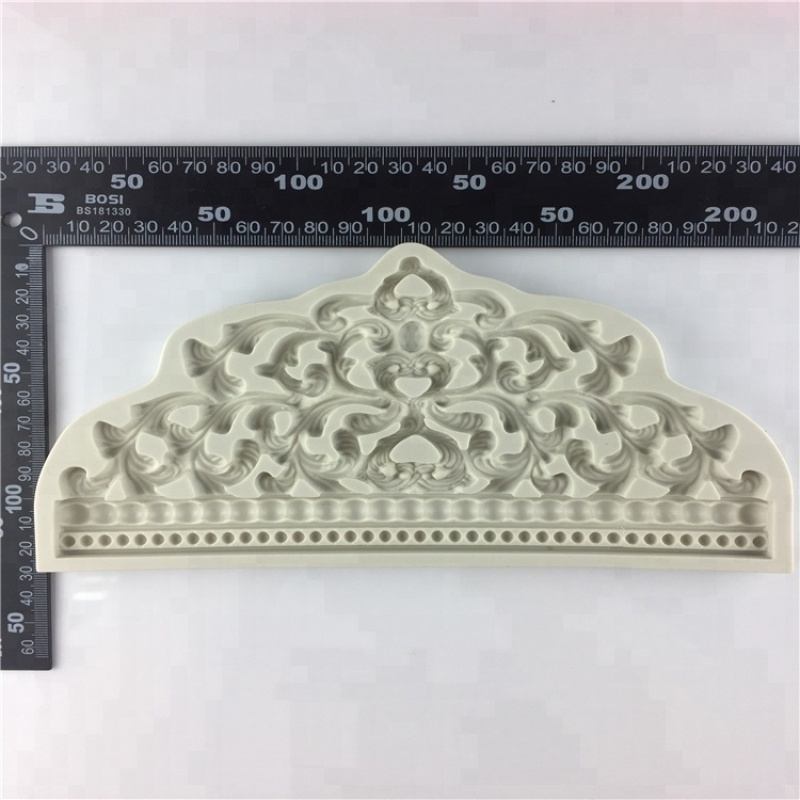 Large Crown Silicone Fondant Mould for Wedding Cake Decoration