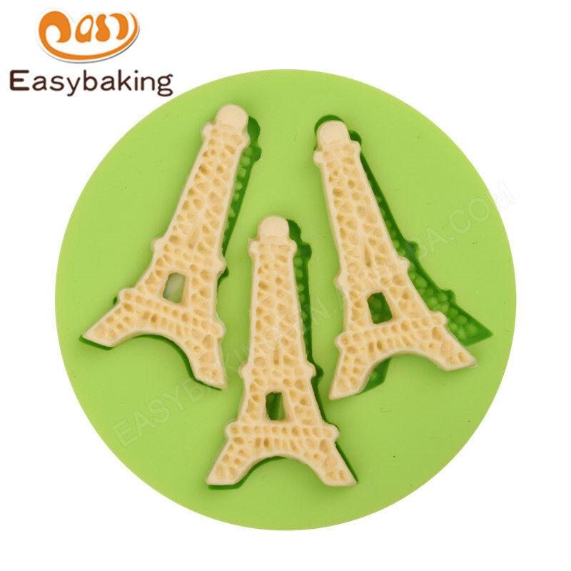FDA Food Grade Customized 3D fondant  Silicone  Mold