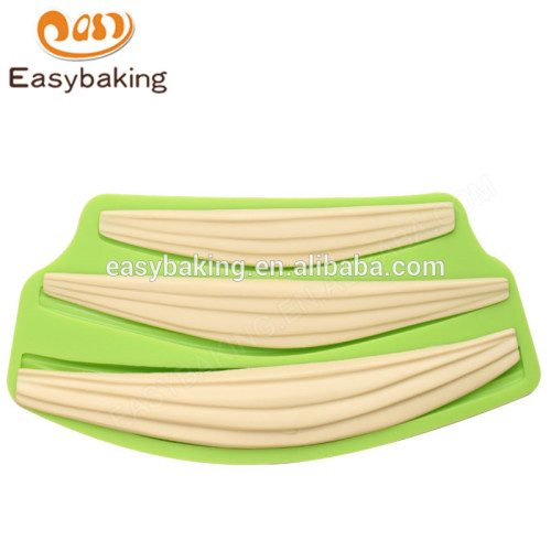 New design guaranteed quality 225*110*13 silicone mold for cake