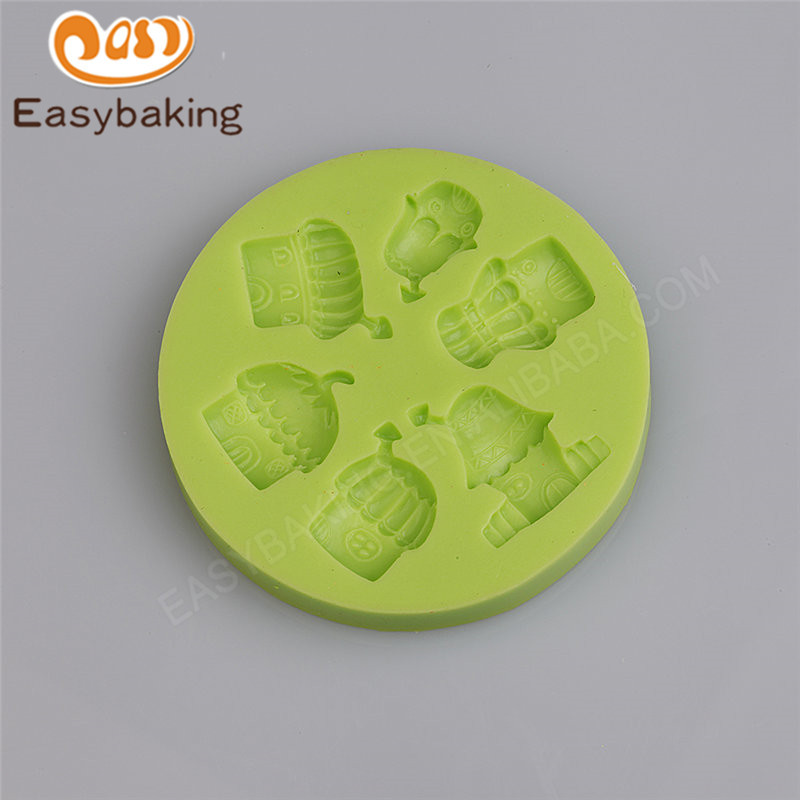 Multifarious Chimney House Muffin Good Quality Silicone Mold