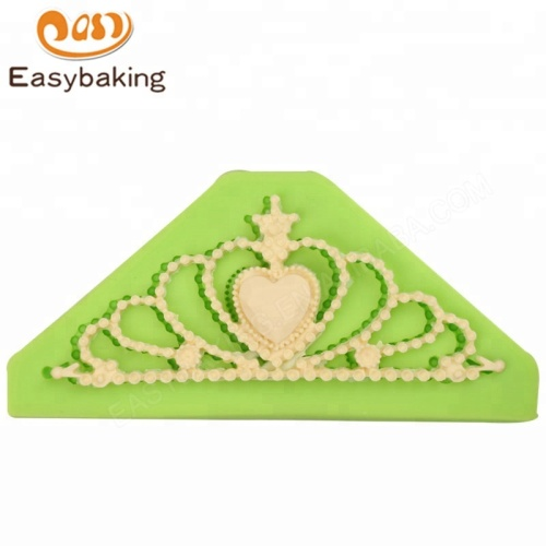 Princess Tiara Crown Silicone Mould for Cake Toppers