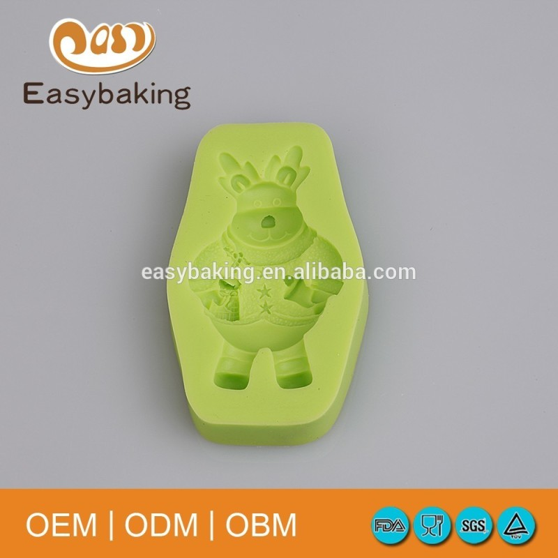 Free Sample Funny 3D Silicone Cake Molds For Kids