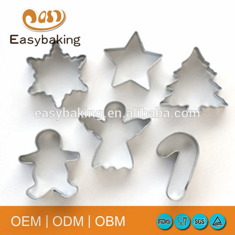 Welcome popular Christmas design stainless steel cookie cutter