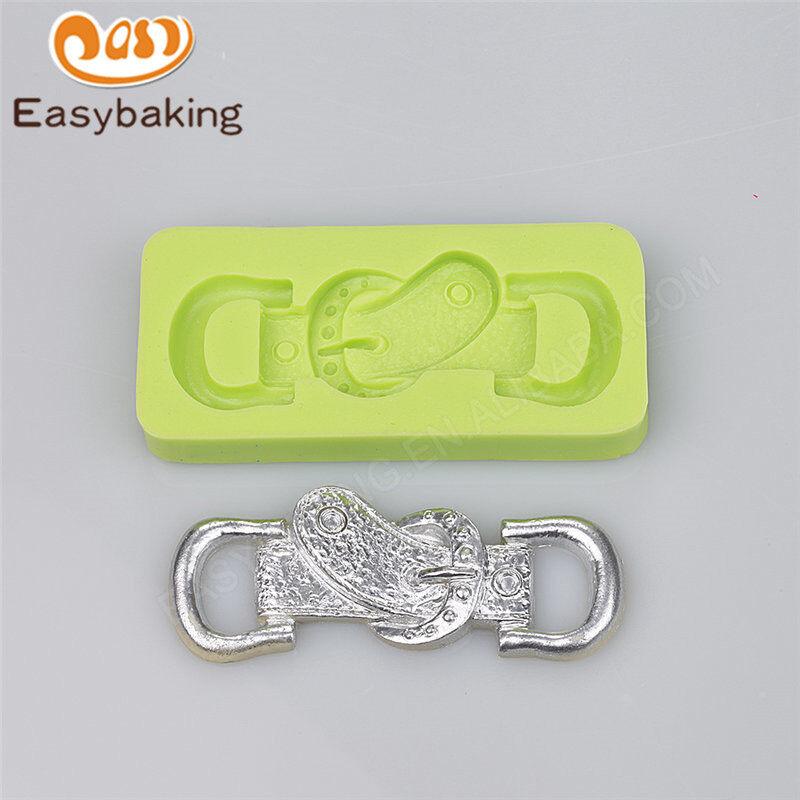 Belt shape silicone fondant mold