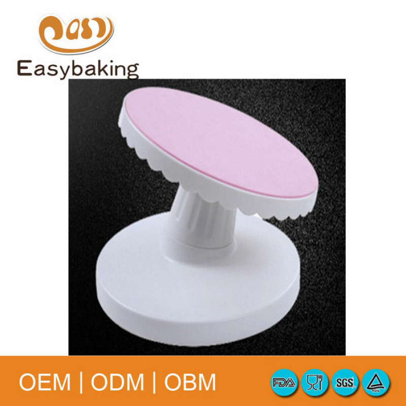 China supplier newest design cake decorating turntable cake stand