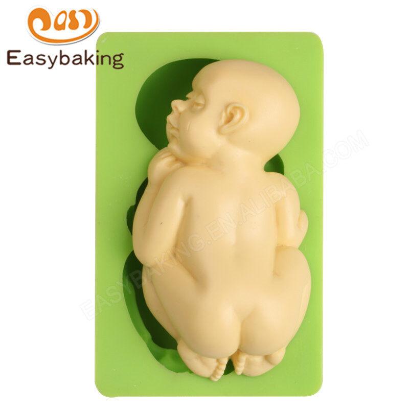 Baby fodant cake  decoration silicone mould