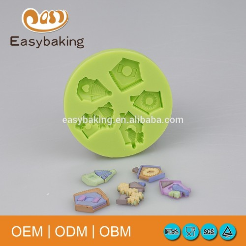 Baking Biscuit Pet Nest House Silicone Molds