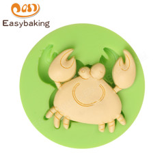 Cartoon Crab Shaped Silicone Cake Decorating Tools Mould