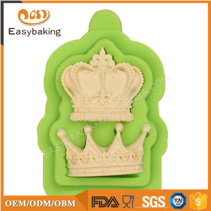 Cake Decoration Fondant Crown Silicone Mold