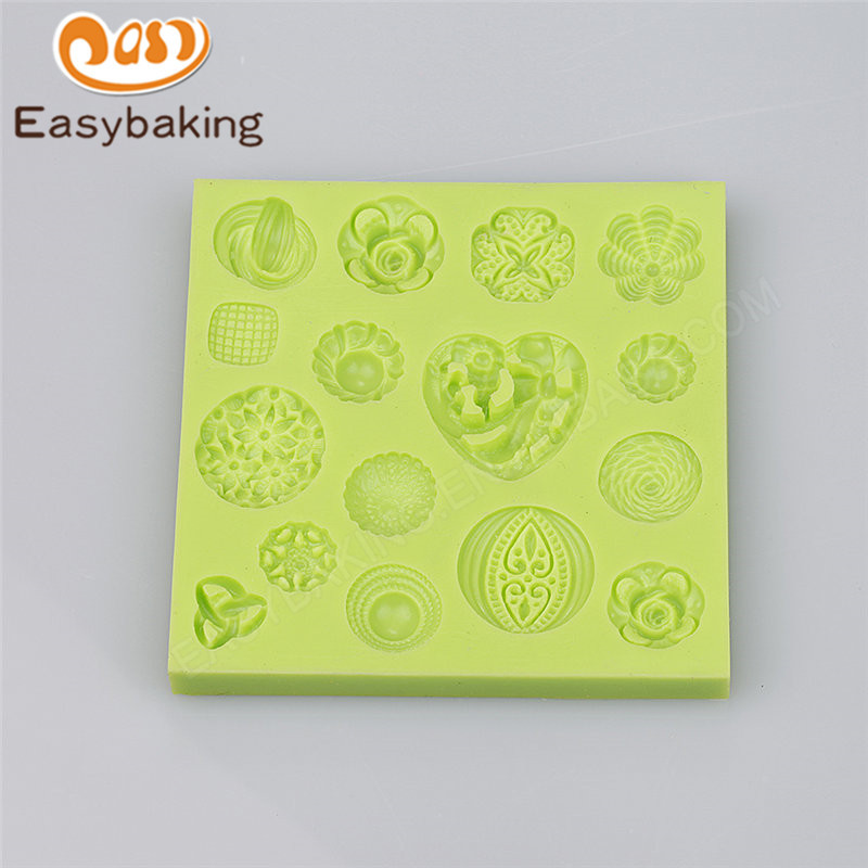 New product 3D Multi Jewelry silicone cake mold cake decoration tool