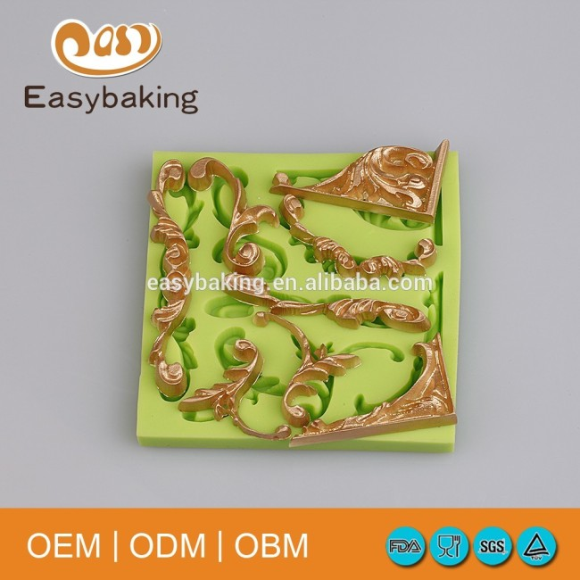 Multi Shapes House Wall Doors Windows Arts & Crafts Silicone Molds Baking Cake Decorating Tools