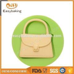 Silicone lady bag series fondant cake decoration mould