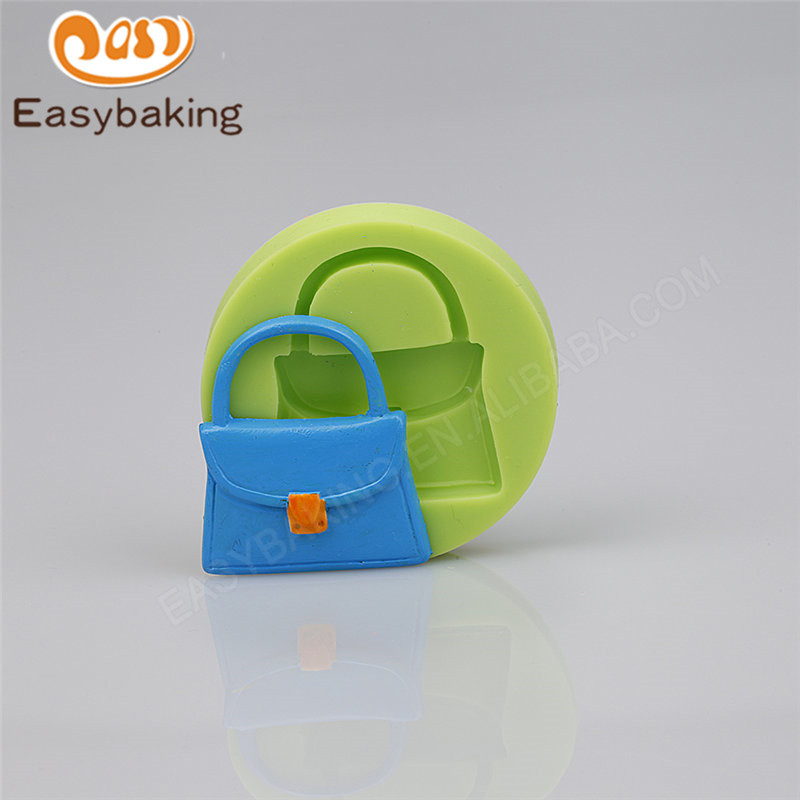 Bag diy handmade 3D fondant silicone  mold