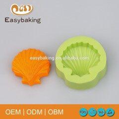 Superior quality handmade sea shell silicone soap mold