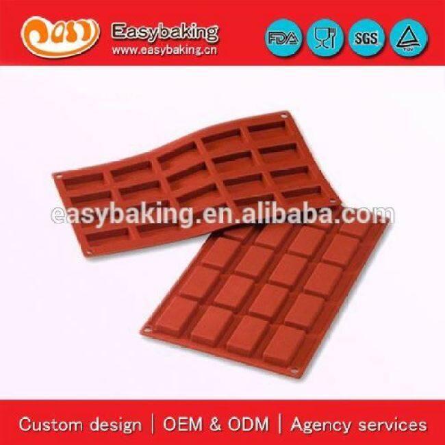 20 Cavities financiers mold baking silicone cake mold