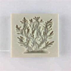 Wholesale Sea-plant Fondant Cake Decoration Silicone Coral Moulds