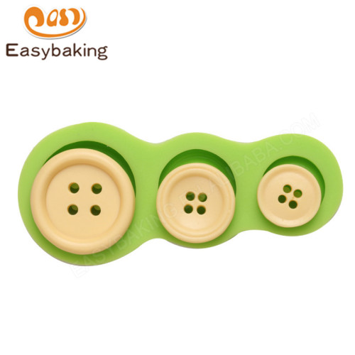 Silicone 3D button Molds for  Sugar Craft