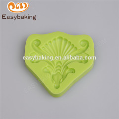 Quality assured different shapes 84*84*10 silicon cake decorating molds