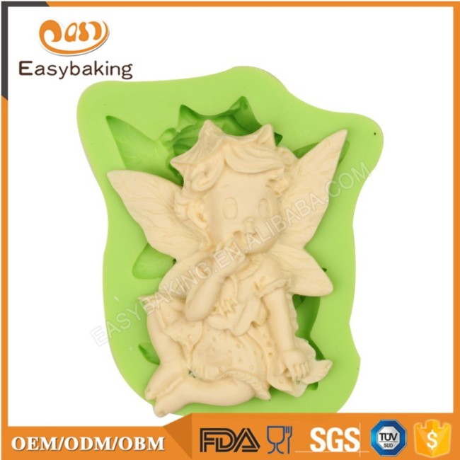 Best Selling Products Silicone Molds 3D Fondant Baby In Amazon