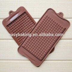New Square Grid Bar Chocolate Mold Silicone Fondant Mold Sugar Candy Jelly Jello