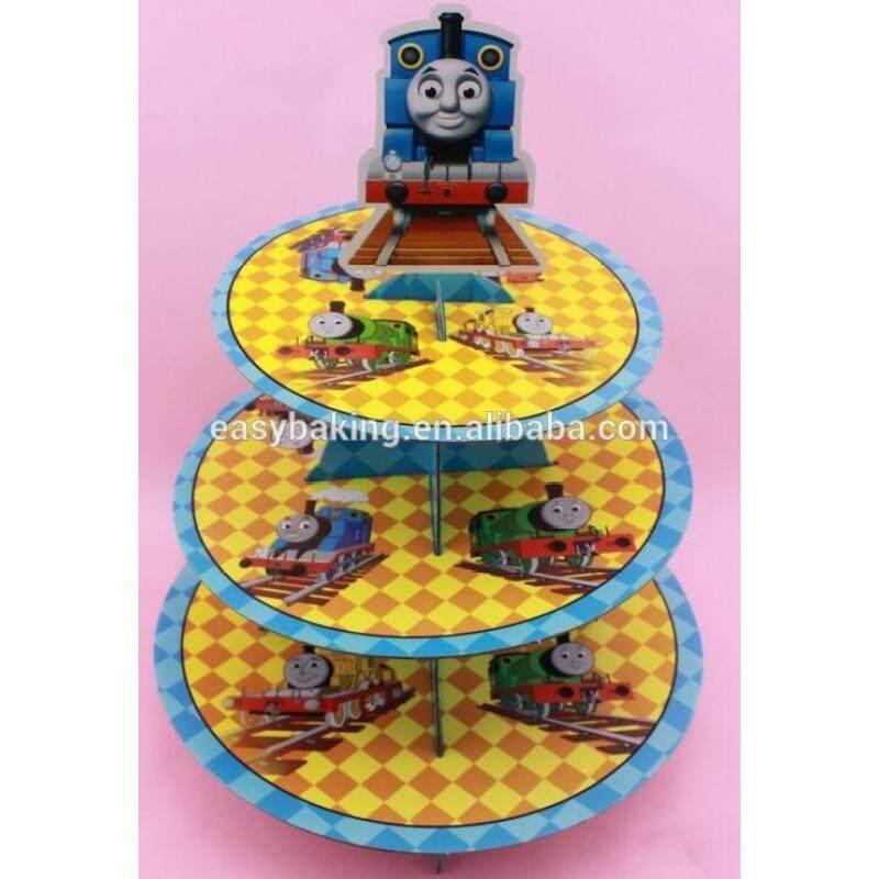 Beautiful wedding cupcake stand cardboard party cupcake stand