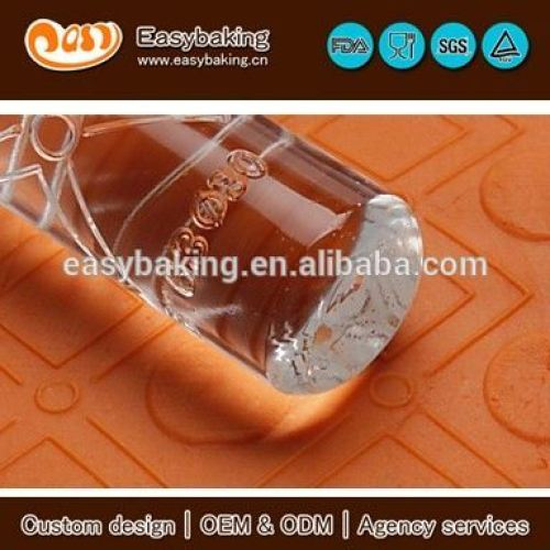 Custom Geometrical Cake Decorating Acrylic Embossing Rolling Pins