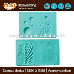 The elegant flower impression silicone macaron baking mat