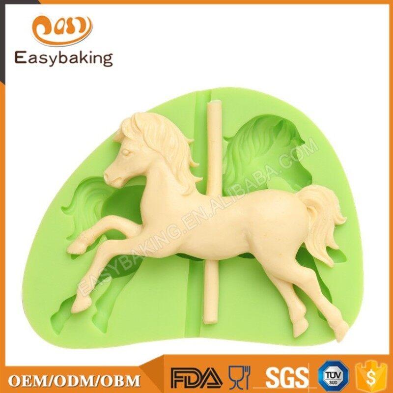 Best Wholesale Suppliers 3D Fondant Silicone Horse Molds
