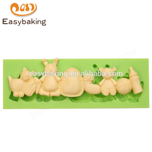 Alibaba best selling custom 2017 high quality boy toy series silicone molds