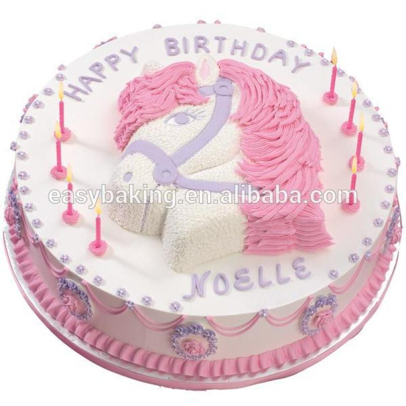 NEW arrival 3D Cartoon Panda Alloy Cake Mold Baking Party Pony Pan