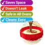 4pcs Bottomless Magic Bake Snake Silicone Cake Mold for Cake DIY