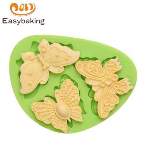 Butterfly silicone mould fondant tools