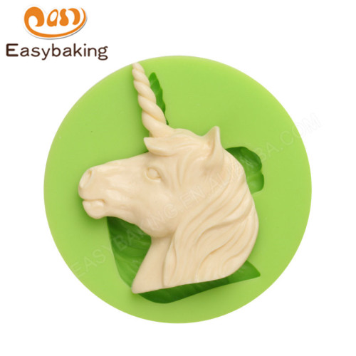 Horse Head Silicone Molds Fondant Moulds for cake decorating