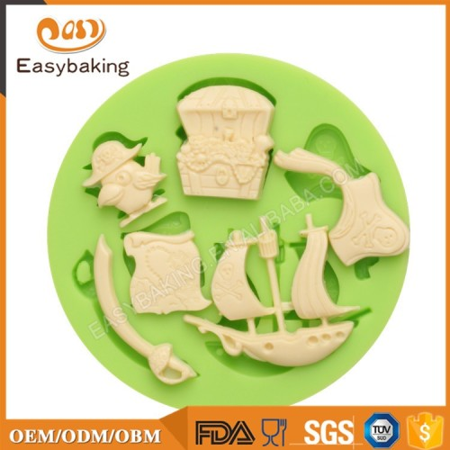 Famous One Piece Series Custom Made Candy Molds Silicone