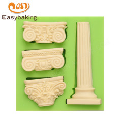 DIY Tools about Building Pillar Shape Silicone Cake Mould