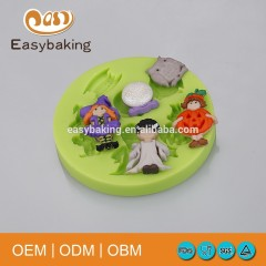 Hot selling Halloween Theme Silicone Fondant Mould Cake Tools