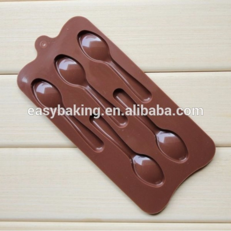 Most Selling Items Spoon Shape Chocolate Mold Silicone Mold