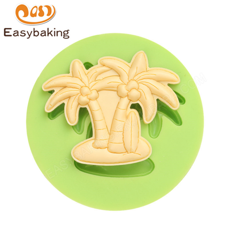 Coconut Palm 3d silicone fondant icing molds