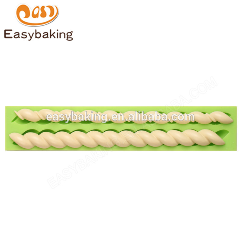 Factory wholesale 232*44*11 silicone moulds for cake chocolate
