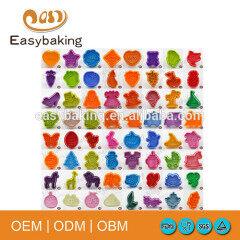 Factory customized design cute plastic cookie cutter custom