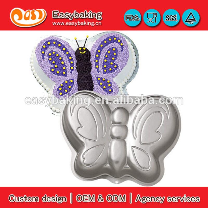 Birthday Celebration 3D Aluminium Baking Fairy Butterfly Cake Pan Tin