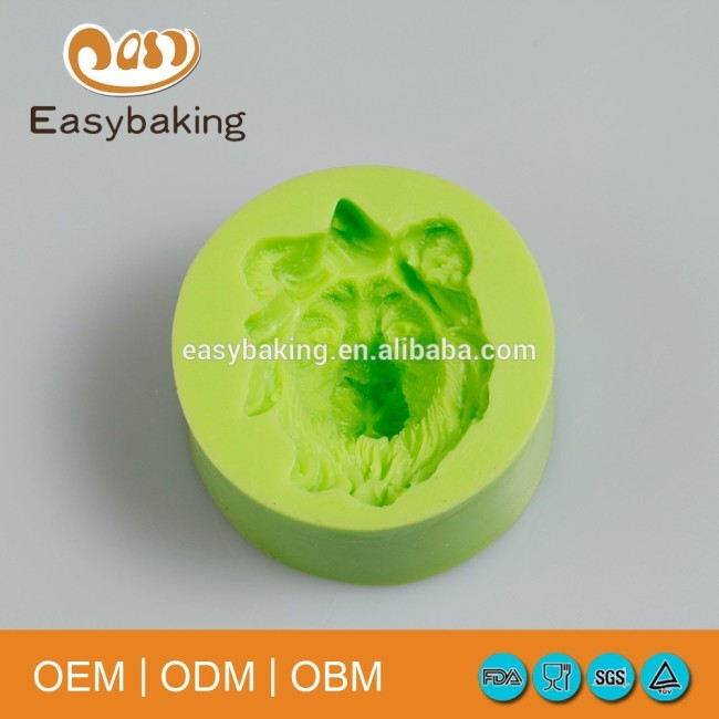 Wholesale 3D animal silicone lion mold