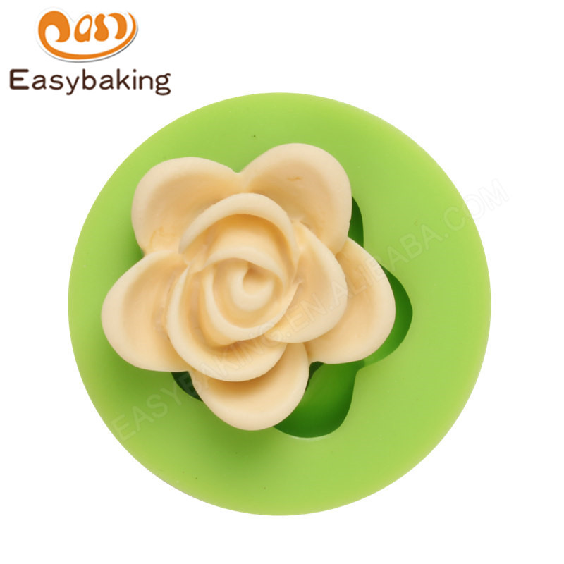 Cheap 3D Flower Shaped Cake Mould Silicone Chocolate Molds