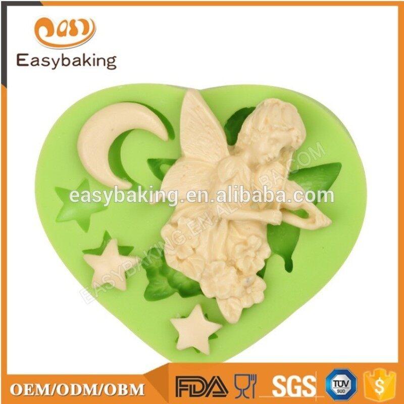 Angel wings shape silicone cake decoration mold fondant tool