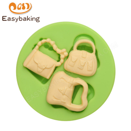 Wholesale bag 3d silicone  making molds